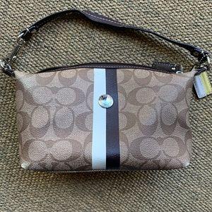 [Coach]• small monogram handbag